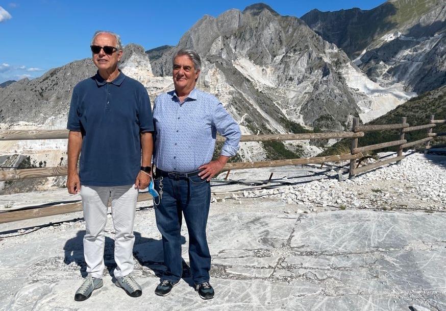 da sin. Fabrizio D'Alessandro (RC Carrara e Massa) e Paolo Santoro (RC Firenze Nord)