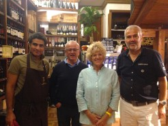 Marco, Costanza, Sandro e Magdy
