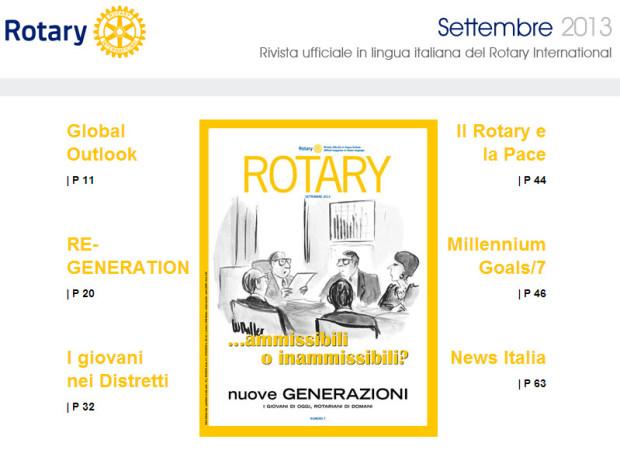 Rivista Rotary Settembre