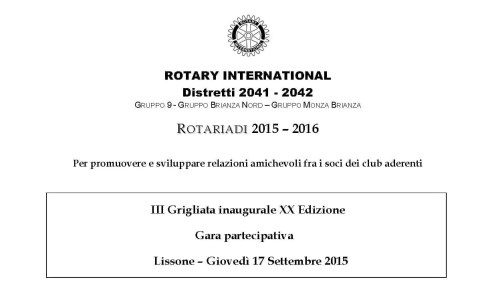 Locandina - Grigliata 17.09.15