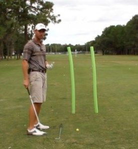 In this drill we fine tune your draw, as we learn to eliminate the left side of the course.
