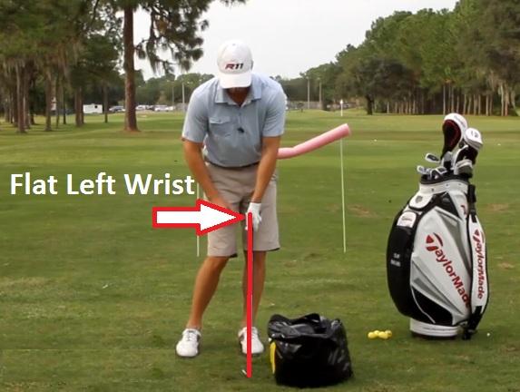 Flat Left Wrist – RotarySwing com Blog & Store