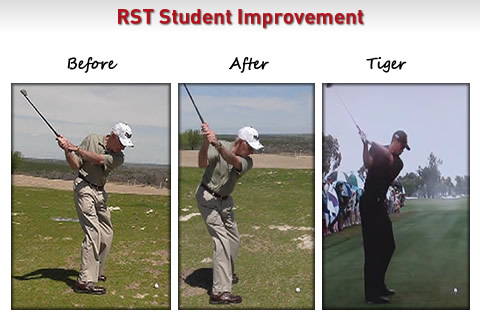 golf backswing