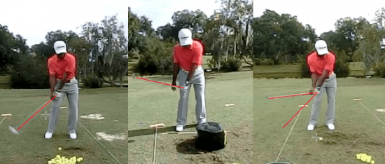 This is sequence paints a great picture of the improvement that was made during our golf lesson. <a  href=