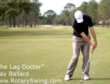 lag drill with club