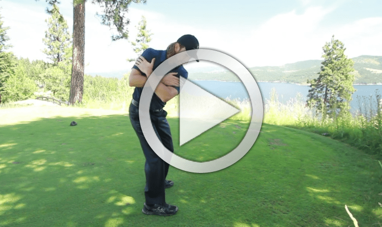 golf downswing power