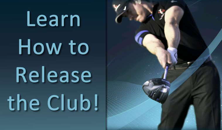 how to release golf club