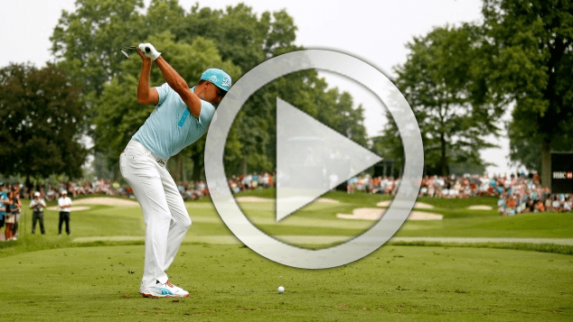 Rickie Fowler golf swing analysis