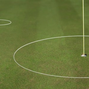 golf chipping ring