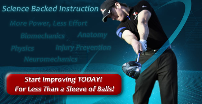 start improving your golf swing today