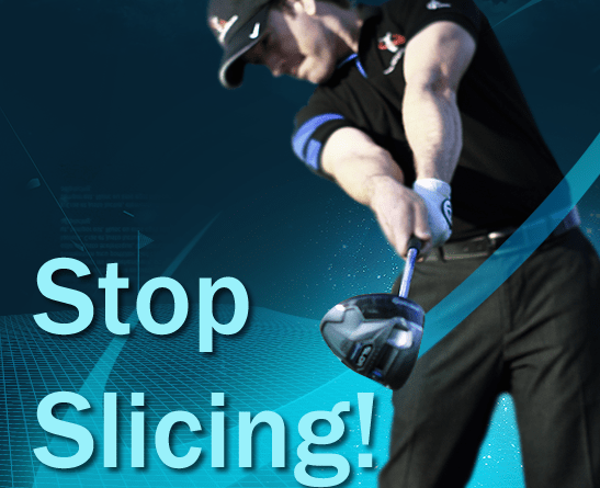 stop slicing in golf