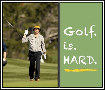 golf is hard
