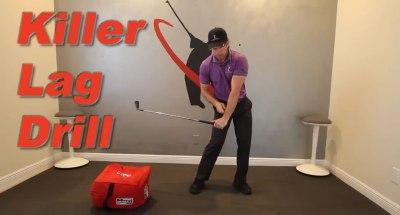golf swing lag drill