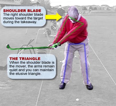 perfect golf backswing