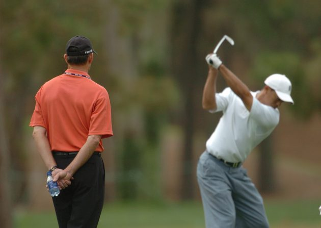 tiger woods hank haney