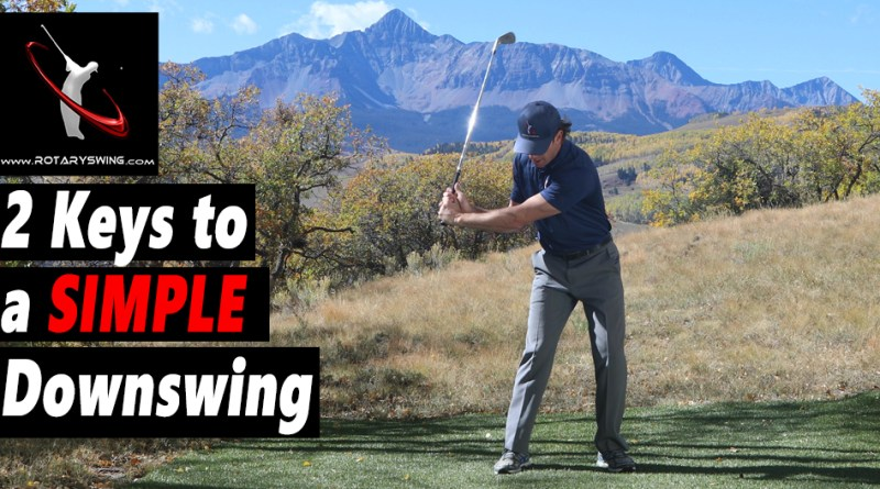 learn simple golf swing