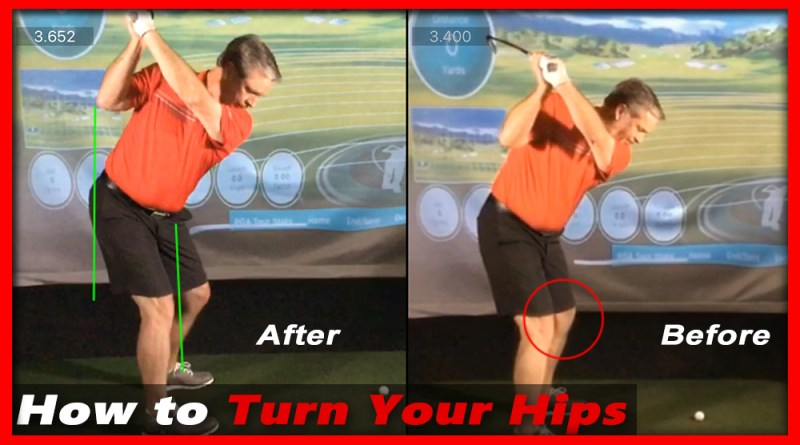 how to use hips in golf swing