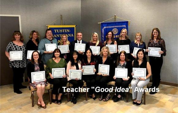 Teach Goo Idea Award Recipents 2018