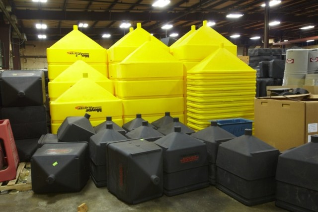 rotationally molded tanks