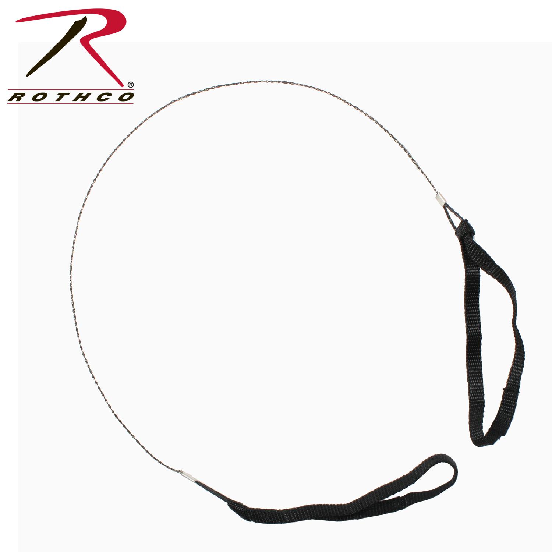 Rothco Commando Wire Saw With Nylon Hand Straps