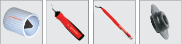 Tăietor de înaltă precizie ROTHENBERGER ROTRAC 28 / 42, Rola taietoare de schimb, Debavurator interior/exterior, GRATFIX, UNIGRAT
