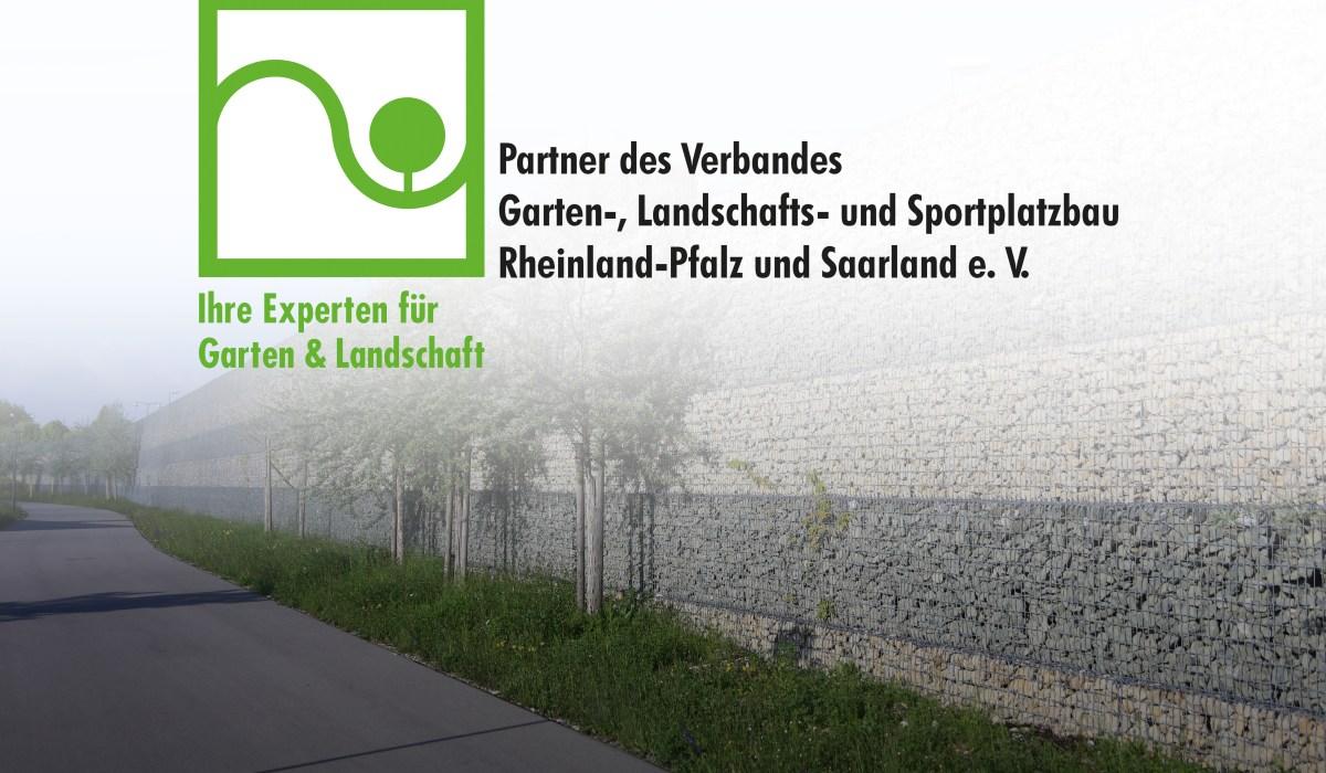 Fördermitglied im Landesverband Garten-, Landschafts- und Sportplatzbau Rheinland-Pfalz Saarland e.V.