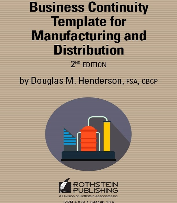 Business Continuity Template For Manufacturing and Distribution – Business Continuity Templates