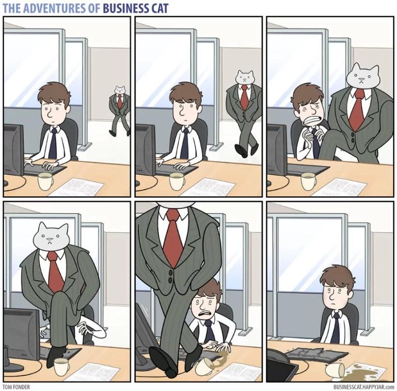 Se seu chefe fosse um gato