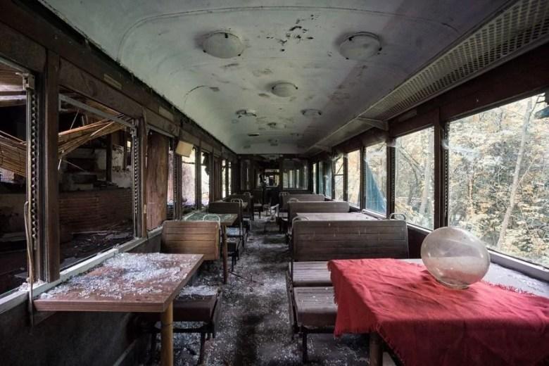 Fotos de lugares que a natureza ocupa lugares abandonados por seres humanos