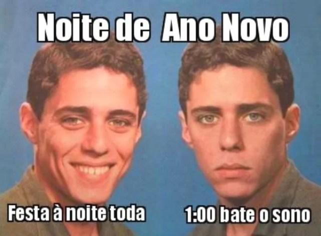 Memes do ano novo