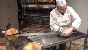 préparation poulet rotissoire