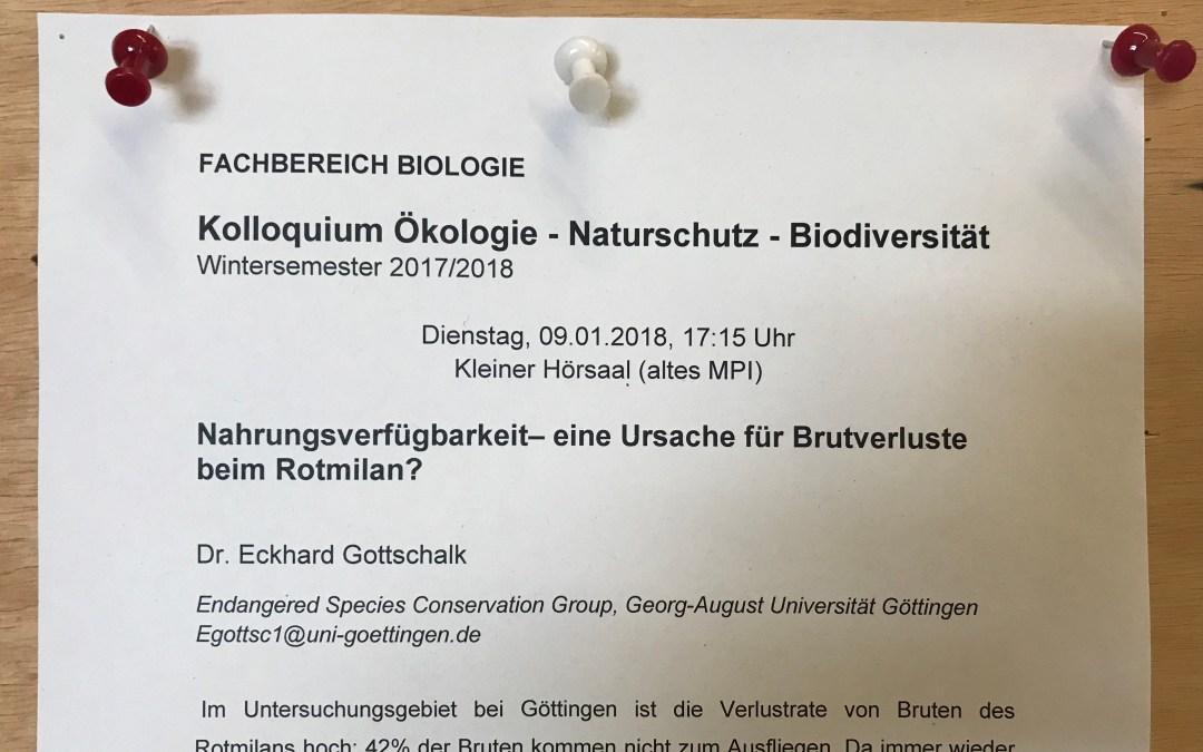 Besuch aus Göttingen