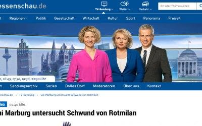 Besuch des Hessischen Rundfunks (hr)