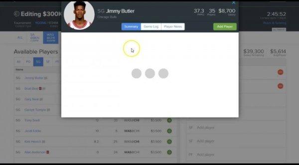NBA Fanduel & DraftKings Lineup Picks for 1/11/16 - RotoJuke