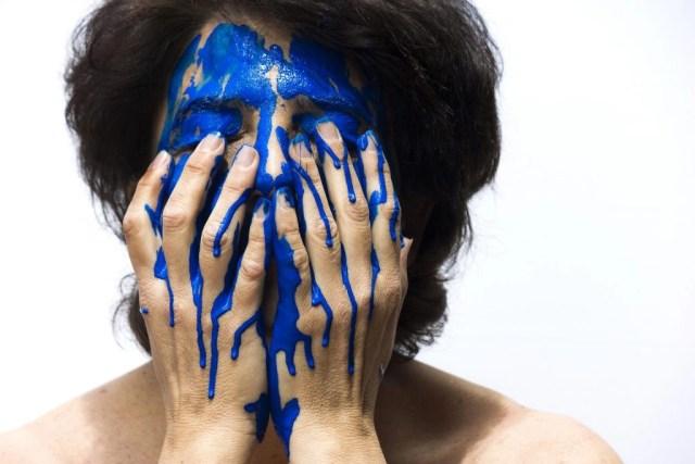 concept colore in faccia