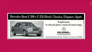 Campagna Mercedes Benz Classe E - Nuova versione diesel - Stampa, Affissione, Radio, Affissione dinamica