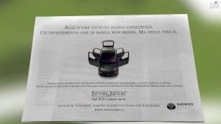 Campagna stampa prodotto Matiz Daewoo- Quattroruote soggetto 2