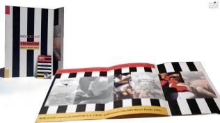 Brochure e immagine coordinata Nazionale beach volley SS Lazio - sponsor worldcoast - presentazione programma