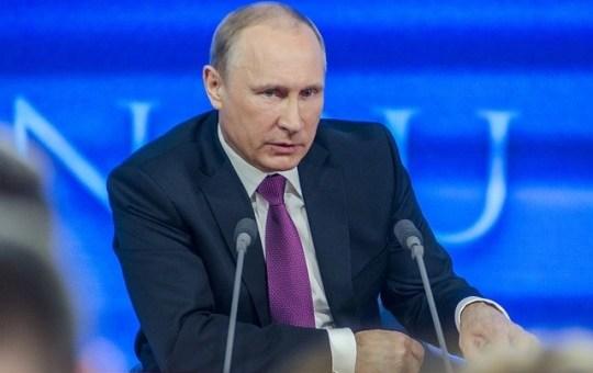 Foto Putin - Orso Incombente | RotoNotizie