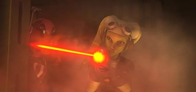 Star Wars Rebels S1 Finale Fire Across The Galaxy REVIEW Rotoscopers