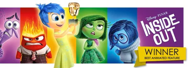 'Inside Out' Wins BAFTA for Best Animated Film | Rotoscopers