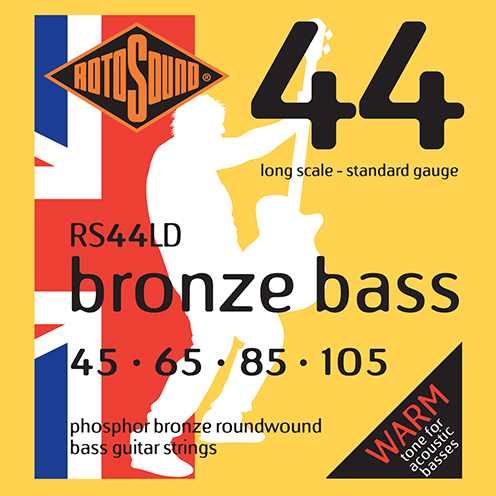 rs44ld Rotosound Bronze Bass phosphor acoustic strings stings srings base gitar giutar standard regular long scale best tone