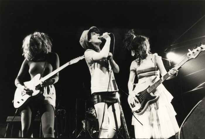 The Slits Tessa Pollitt female punk new wave Rotosound strings