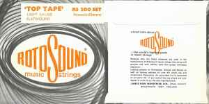 Rotosound 1968 Top Tape RS 200 packaging