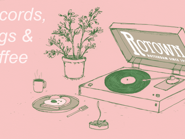 Records, Eggs & Coffee - 26 november 2017 - Rotown, Rotterdam