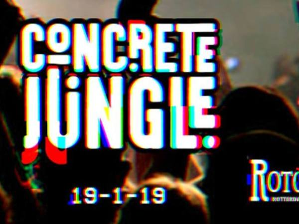 Concrete Jungle - 19 januari 2019 - Rotown, Rotterdam