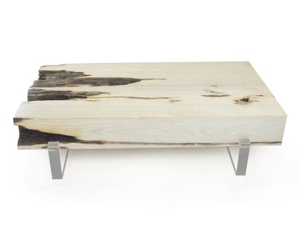 Reclaimed Ellipse Coffee Table