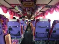 Der Bus wurde extra für Sasha geschmückt.