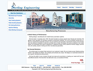 sterling engineering website