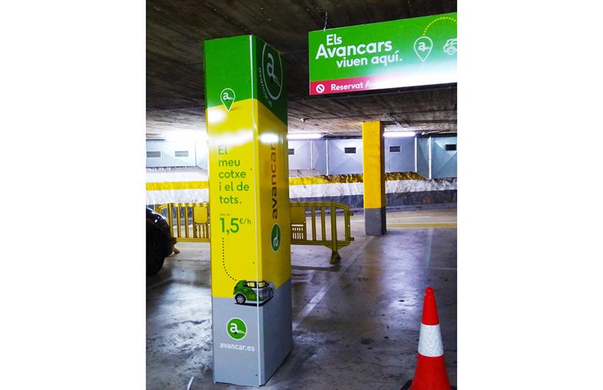 impresiones pvc avancar parking